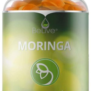 Moringa Gummies from Miracle Tree Leaf, Superfood Supplements, Source of Vegan Nutrients, Minerals, Vitamins and Antioxidants, 60 Chewable Gummy Vitamins